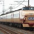Photos: 489系サワH02編成 特急とき号