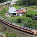 189系トタM51編成 快速山梨富士3号