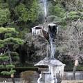 写真: 鶴の噴水
