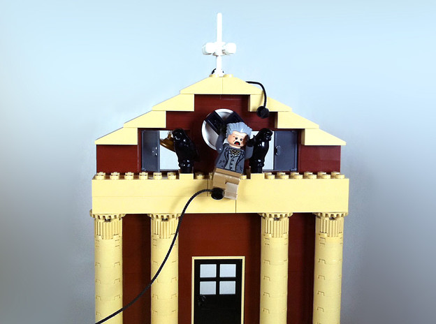 時計台レゴ Back to the Future Clock Tower