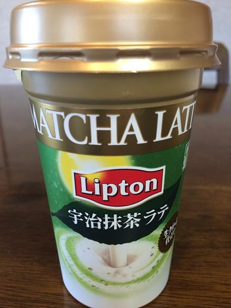 リプトン宇治抹茶ラテ