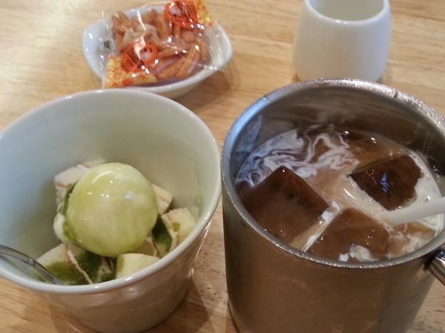 20140819 16.32.14 喫茶みかど - アイスコーヒーセット