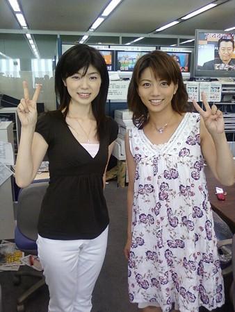植木奈緒子さんと甲斐まり恵さん
