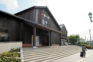 掛川の木造駅舎(あさひ)