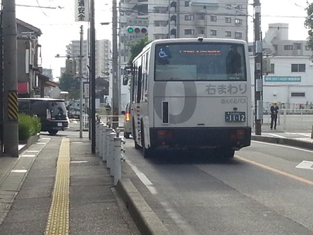 20141020_080720 市役所・文化センター - みぎまわり循環線バス