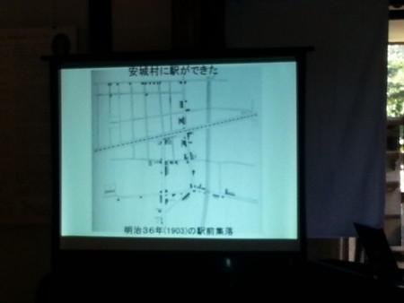 20141025_111144 まちのえき岡菊苑開業記念講演 - 1903年のえきまえ