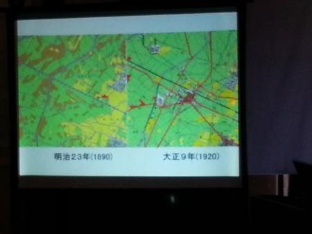 20141025_111903 まちのえき岡菊苑開業記念講演 - 道路網の整備
