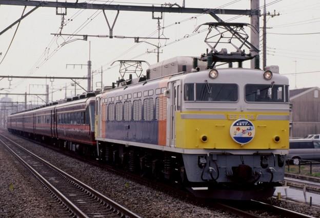 高崎線 EF81-79+ゆとり