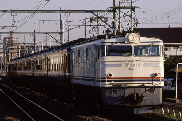 高崎線 EF60-19+くつろぎ