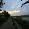 写真: 8/13 鏡川の朝.7
