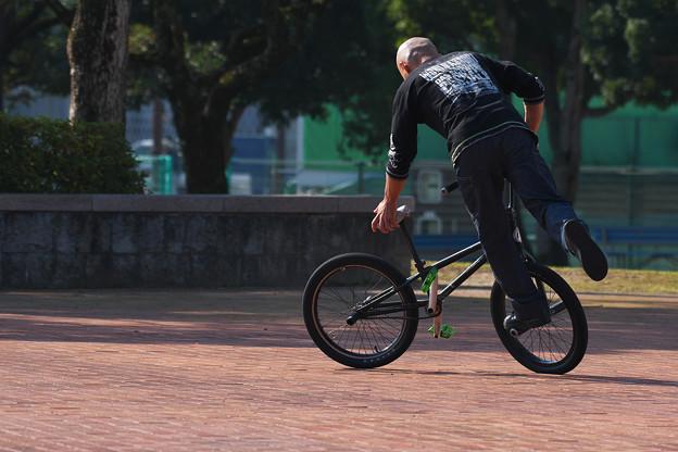 自転車曲乗り・5