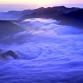 写真: 大雪山の夜明け