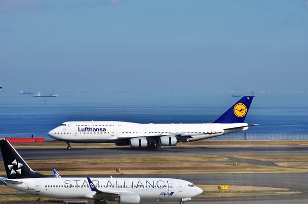 ルフトハンザ航空 B-747