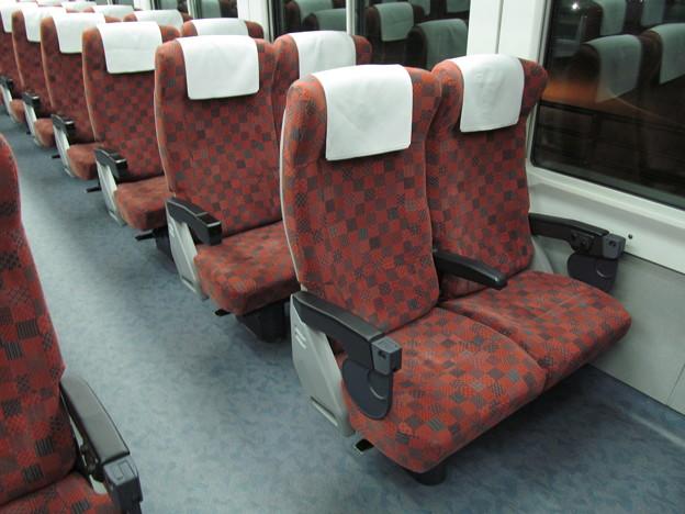 E653系1100番代のシート