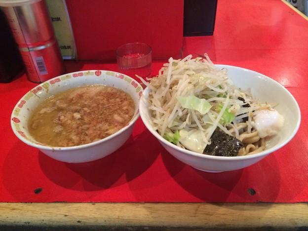 ラーメン二郎 府中店 小つけ麺 ヤサイ アブラ チーズ