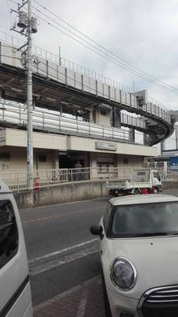 西鎌倉駅 PC1前