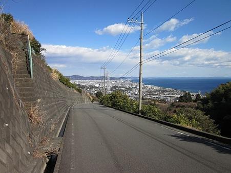 石垣山から眺める