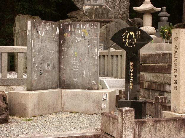 30-和歌山 高野山 花菱アチャコ句碑-20040712-083