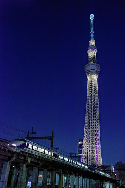 Photos: 源森橋にて