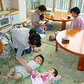 Cafe only for parents and  babies.
