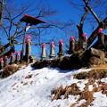 13権者の石像