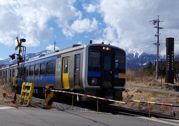 写真: 八ヶ岳高原電車♪