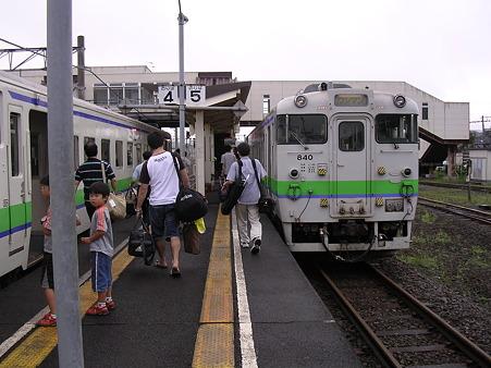 木古内駅1