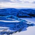 Photos: 青い氷河
