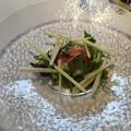 写真: 生ハムのサラダ