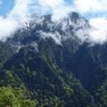 穂高連峰を望む