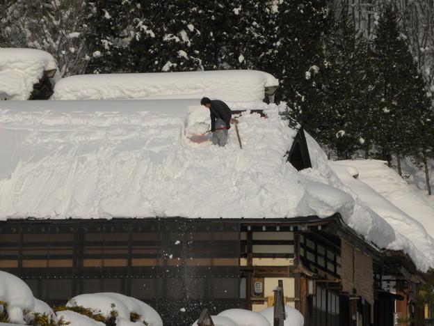 Photos: 大内宿「雪の季節」