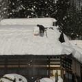 写真: 大内宿「雪の季節」