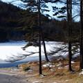 冬の御射鹿池ーD