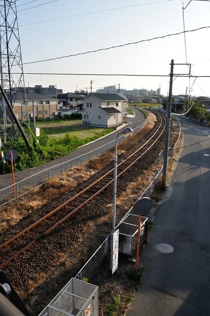 港の線路 09