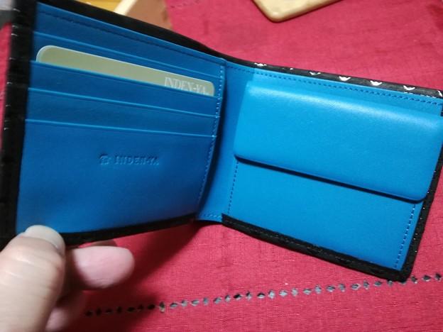 印伝の財布