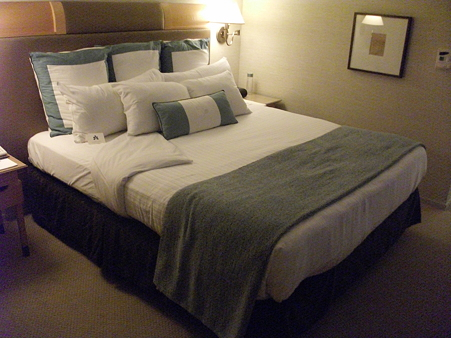 Hotel Nikkoのベッド