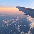 写真: 空の旅