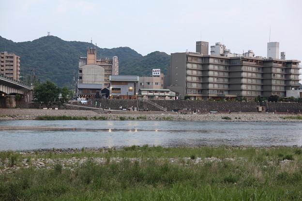 長良川河川敷