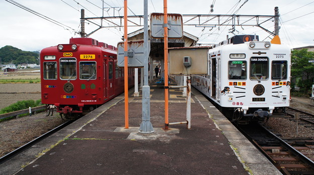 和歌山電鐵 2276Fと2275F