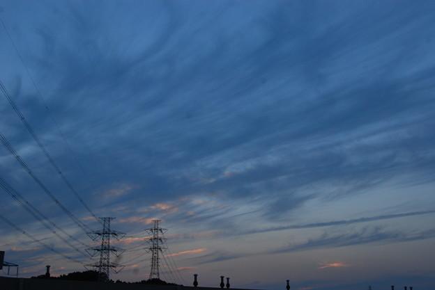 お気に入りの場所の夕日-179