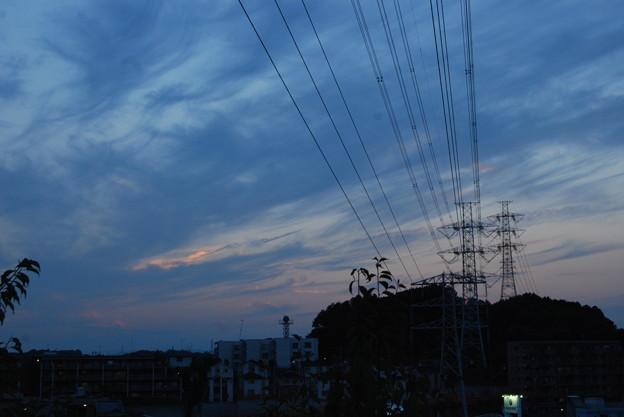 お気に入りの場所の夕日-181