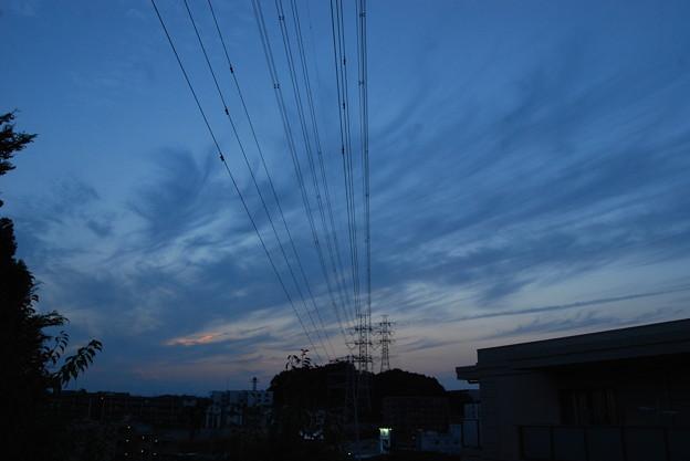 お気に入りの場所の夕日-183