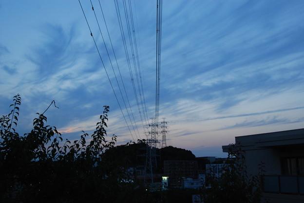 お気に入りの場所の夕日-185
