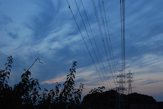 お気に入りの場所の夕日-188