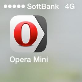 Photos: Yandex Opera Mini 7.0.5:ホーム画面のアイコン