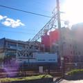 写真: 尾張旭駅北口から見た尾張旭市役所