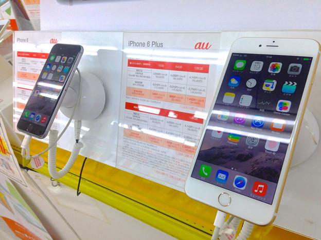 iPhone 6と6 Plus