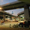 写真: 複雑に交差する名古屋高速 - 2