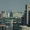 写真: 名古屋高速から見た、ナゴヤドーム