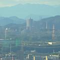 写真: スカイワードあさひ No - 027:展望室からの眺め(桃花台ニュータウンのスカイステージ33)